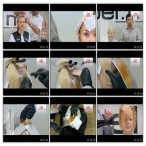 آموزش رنگ مو پسرانه دخترانه