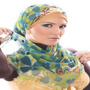توضيحات آموزش بستن شال و روسری