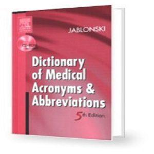 دیکشنری تخصصی پزشکی