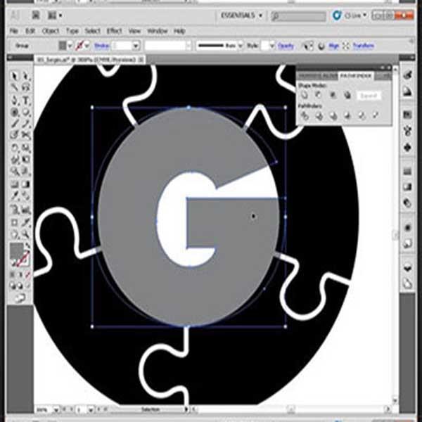 خرید آموزش طراحی لوگوی یک موسسه حقوقی در Illustrator | فروشگاه ...طراحی لوگوی