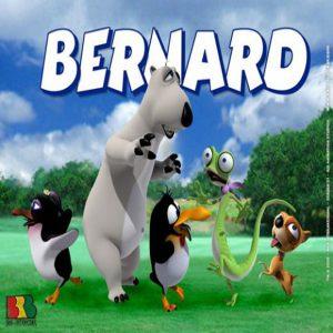 کارتون برنارد خرس قطبی