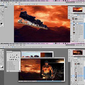 کوهستان جادویی در Photoshop