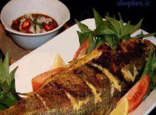 طرز تهیه طبخ ماهی قزل آلا در فر