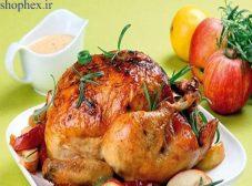 طرز تهیه مرغ شکم پر بدون فر